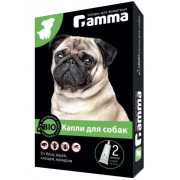 Капли БИО для собак от внешних паразитов (клещей, блох, вшей, комаров), 2 пипетки по 1мл.