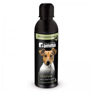 Шампунь для собак и щенков антипаразитарный с экстрактом трав 250мл, Gamma