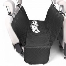 Автомобильный гамак с бортами защиты дверей для перевозки собак, двухслойный, 145*145*45 см
