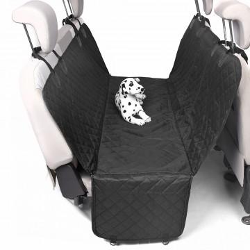 Автомобильный гамак с бортами защиты дверей для перевозки собак, двухслойный, 145*145*45см