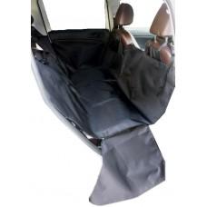Автомобильный гамак с бортами защиты дверей для перевозки собак, однослойный, 145*145*45 см
