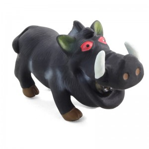 Кабан хрюкающий, игрушка для собак, латекс, 18 см