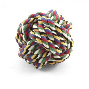 Мяч канатный плетёный, Triol, 70 мм