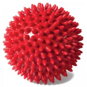 Мяч массажный для дёсен с пищалкой, игрушка для собак, 70 мм