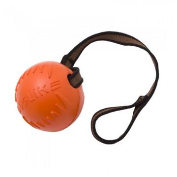 Мяч с лентой средний, для собак, 85 мм
