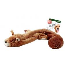 """Игрушка для собак GiGwi """"Шкурка белки"""", с пищалкой, 61 см"""