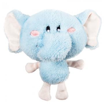 Слоник с пищалкой, мягкая игрушка для собак, 18 см