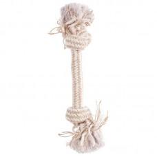 Канат-верёвка с двумя узлами, бежевый, Zolux, 300 мм