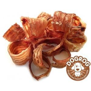Трахеи сушёные говяжьи, 100 гр.