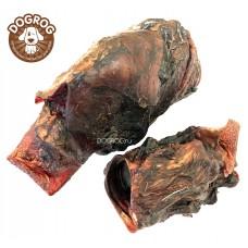 Натуральное лакомство для собак. Калтык северного оленя вяленый, в упаковке - 100 гр.