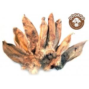 Уши кроличьи сушёные, 100 гр.