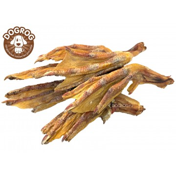 Лапы (ласты) утиные сушёные, 100 гр.
