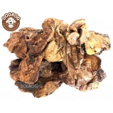 Натуральное лакомство для собак. Лёгкое ягнёнка (баранье) сушёное, в упаковке - 100 гр.