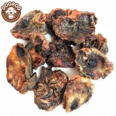 Натуральное лакомство для собак. Медальоны из бычьего корня сушёные, в упаковке - 100 гр.