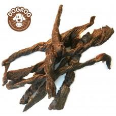 Натуральное лакомство для собак. Мясо северного оленя вяленое, развесное - 100 гр.
