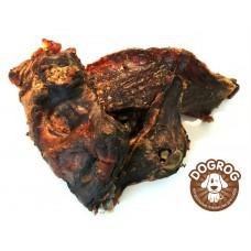 Натуральное лакомство для собак. Мясо вяленое бобра, в упаковке - 100 гр.