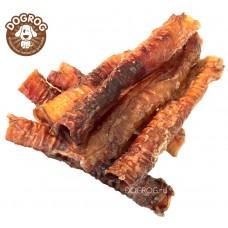 Натуральное лакомство для собак. Трахеи сушёные ягнёнка (бараньи), в упаковке - 50 гр.