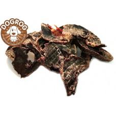 Натуральное лакомство для собак. Сердце сушёное говяжье, в упаковке - 100 гр.