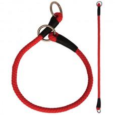Ошейник-удавка, красная, для собак 8*400мм