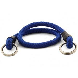 Ошейник-удавка, синяя, для собак 8*400мм