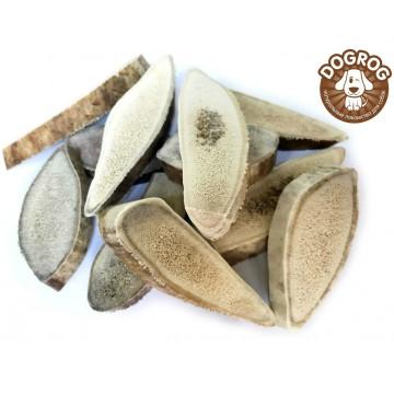 Чипсы (дольки) из рогов северного оленя для собак, 100 гр.