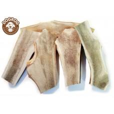 Рога сплит северного оленя для собак от 50 до 150 грамм.