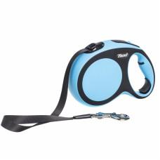 Рулетка-поводок Flexi New Comfort tape-лента M - для собак до 25 кг.